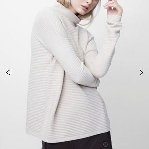 French connection babysoft Lena high neck sweater